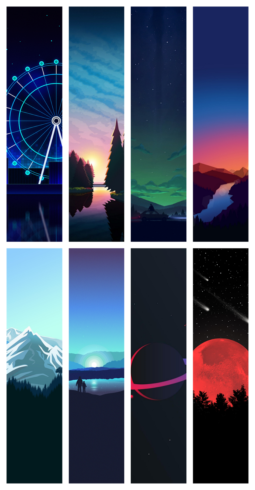 8 cool minimalist wallpapers for phone | WallpaperiZe ...