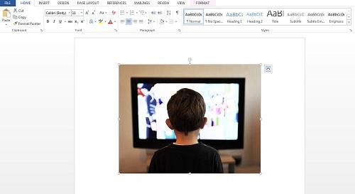 Memasukkan Gambar di Microsoft Word