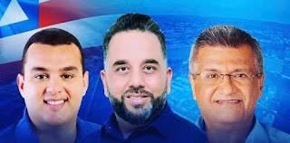 Vereador Anderson Baqueiro promove bate-papo com os candidatos a deputado estadual Alex Lima e federal Bacelar em Alagoinhas