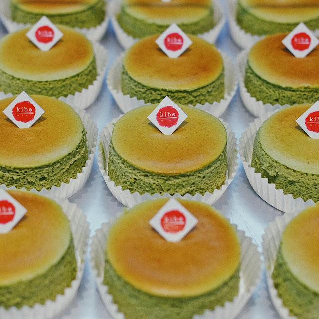 Matcha Molten Cheesecake