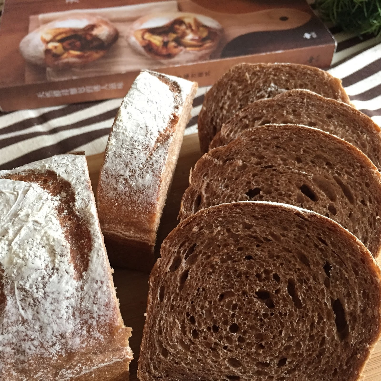 My Mind Patch: Light Cocoa Rye Bread 黑麦面包