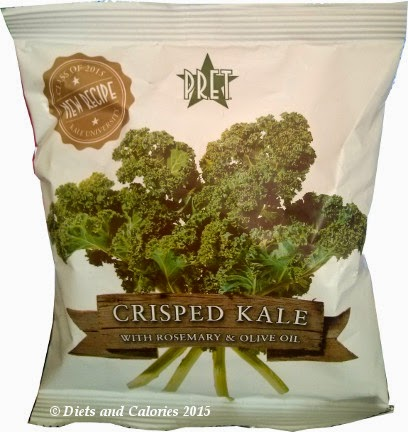 Pret a manger Crisped Kale new recipe