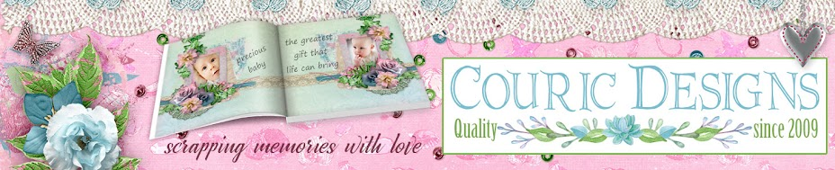 Couric Designs Quality Digital Scrapbooking