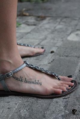 Lovely Foot Tattoos