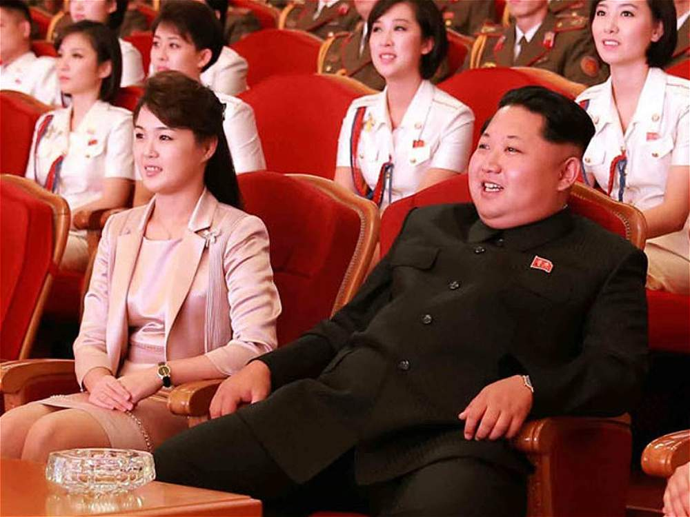 The appearance of the first lady of North Korea, Ri Sol-Un, occurred as part of the celebration of the 70th anniversary of the Workers' Party.