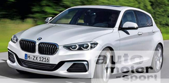 2019 BMW 1 Series Redesign