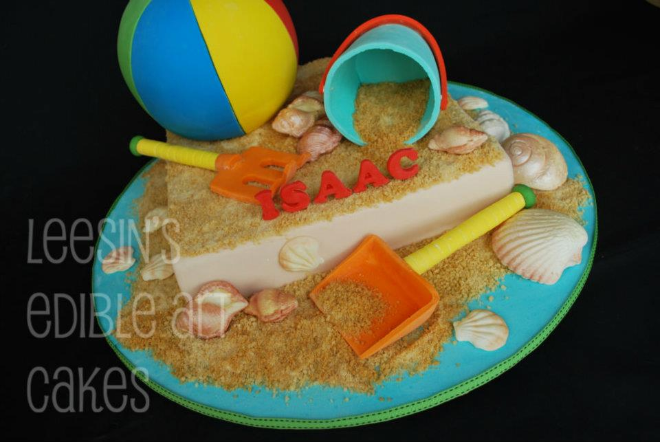 Penang Wedding Cakes by Leesin: Beach Ball Cake