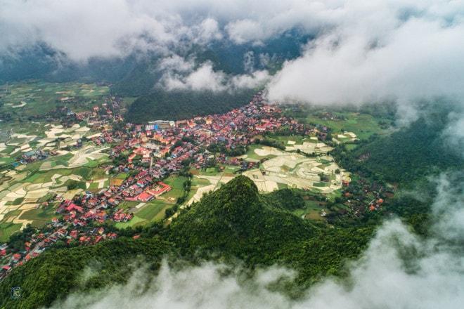 Ngắm nhìn thung lũng Bắc Sơn mùa nước đổ