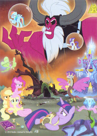 My Little Pony Lord Tirek Series 3 Trading Card