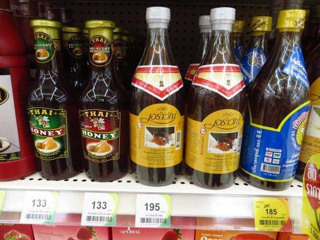 Тайский мед в больших бутылках