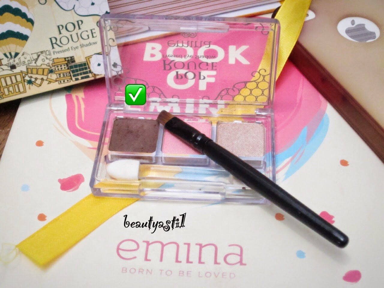 Emina X Sasyachi Step By K Pop Makeup Look Beautyasti1 Eyeshadow Rouge Gelato Review
