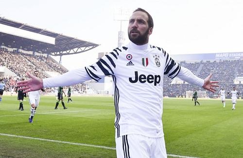 Milan sẵn sàng chi đậm vì Higuain.