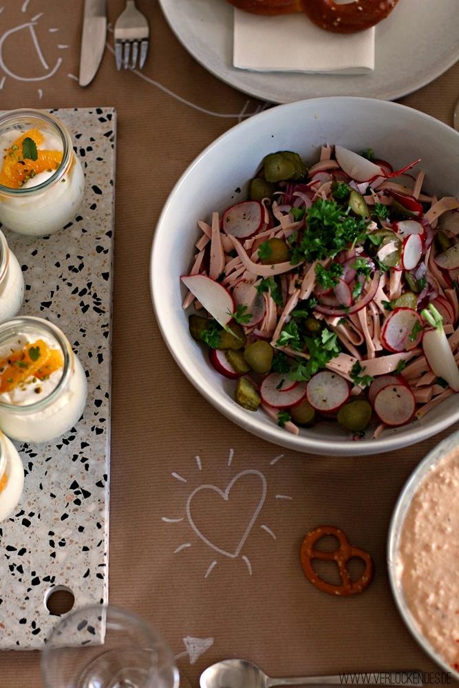 Wurstsalat Rezept einfach