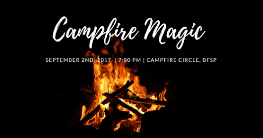Free Public Performance - Campfire Magic Show