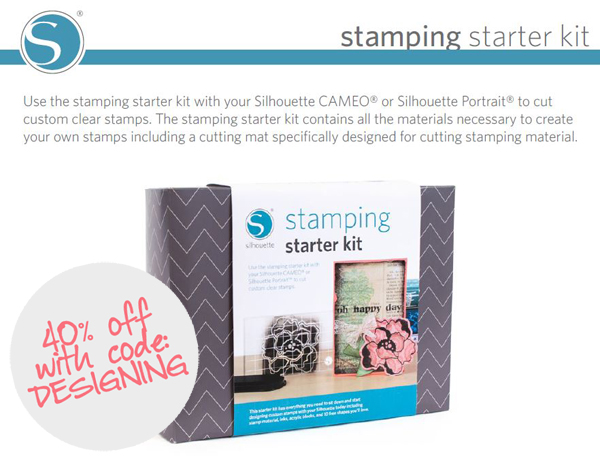 stamping+starter+kit 40% off Silhouette Accessories Promotion + New Products 19