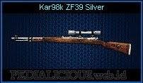 Kar98k ZF39 Silver