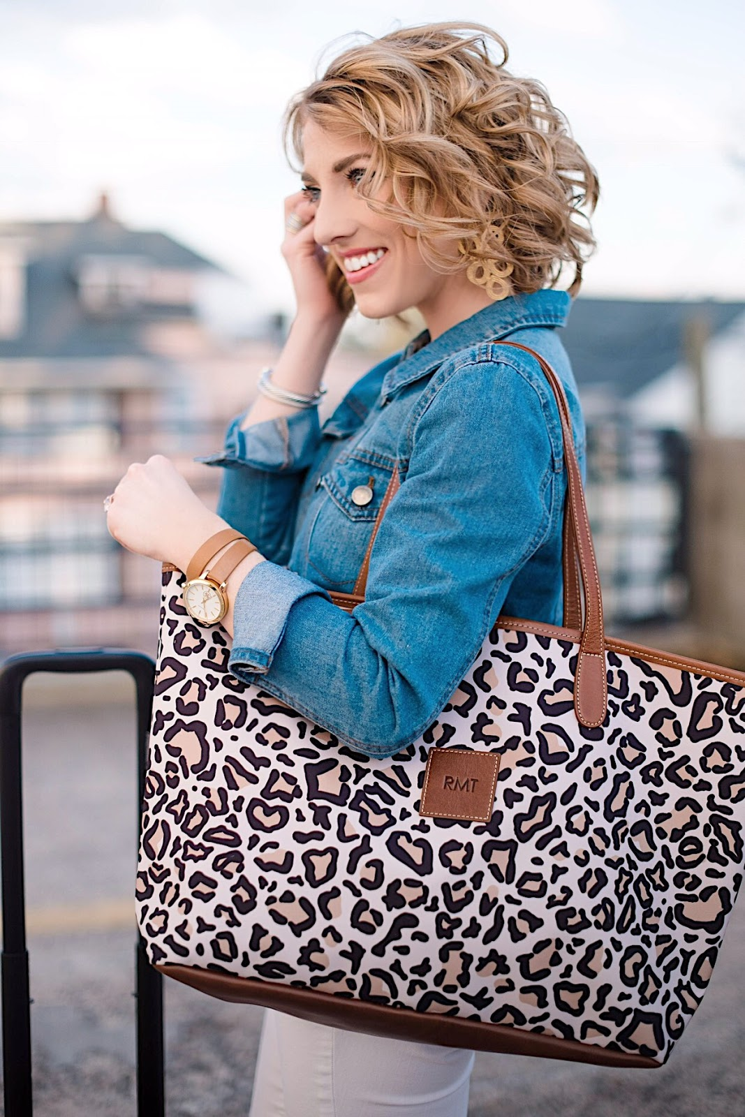 Barrington Gifts Leopard St. Anne Tote - Something Delightful Blog