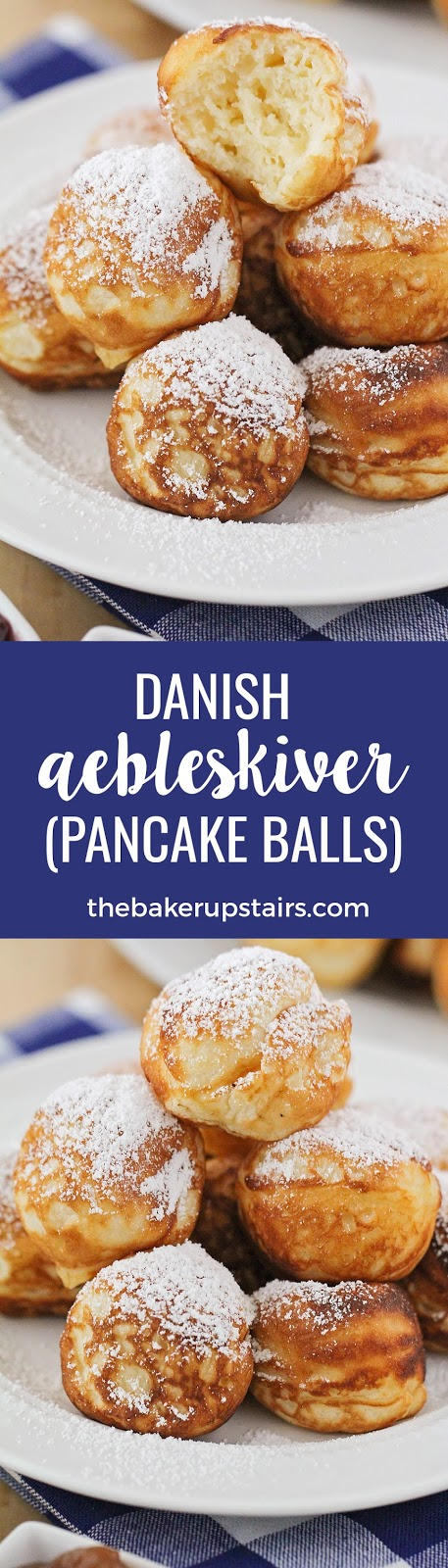 These Danish aebleskiver (pancake balls) are so delicious, and the perfect special occasion breakfast!