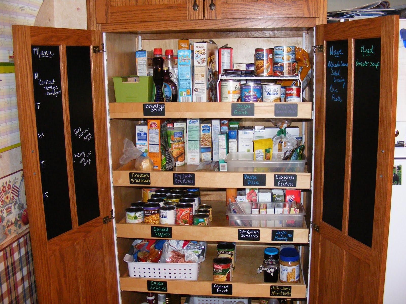kitchen pantry organizers table lights premade closet home improvement