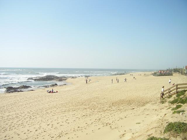 Praia Azul em Portugal