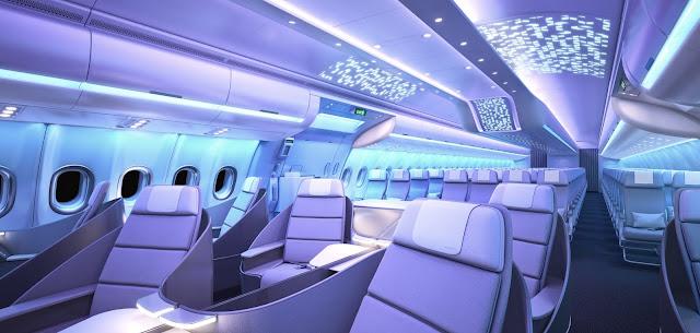 "Airbus lança nova marca de cabine – ""Airspace by Airbus"""