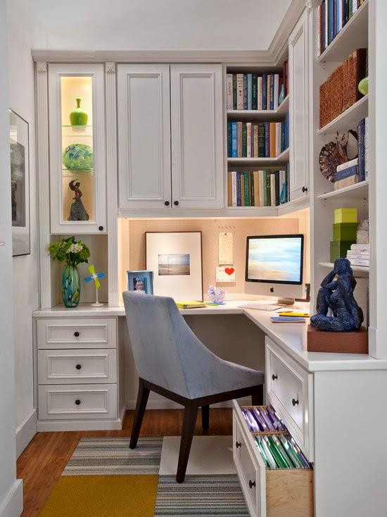 Decoración oficina pequeña