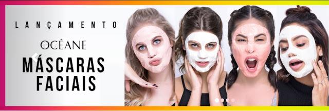 lu tudo sobre tudo máscaras faciais da oceane femme