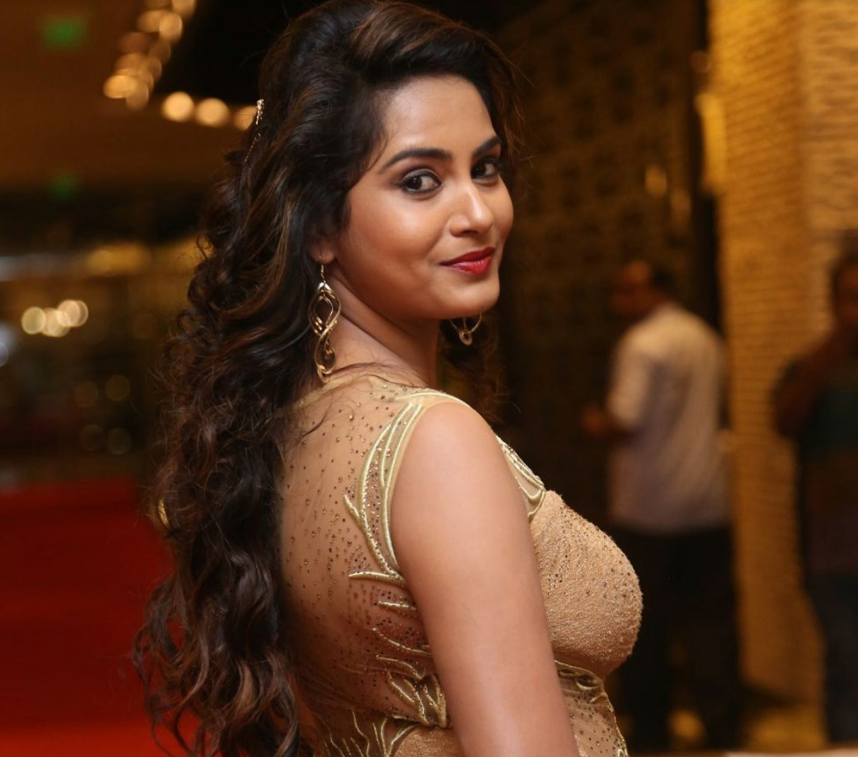 Model Himaja at SIIMA Short Film Awards 2017 Function Stills