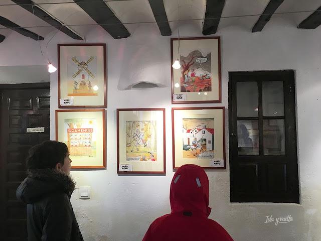 Museos de Castilla- La Mancha ante viñetas