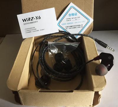 WRZ X6 Sport Earphone Review | ishopiuseireview.com
