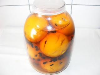 retete bauturi alcoolice digestive reteta lichior de portocale cu cafea,