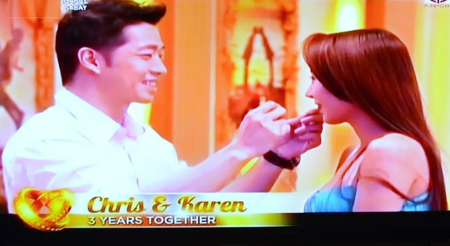 Couple Chris and Karen on Realiserye 'I Do' of ABS-CBN