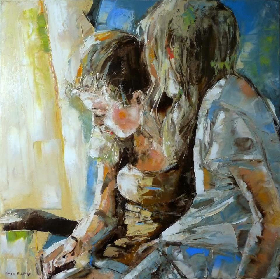 Marcos Rodrigo, 1957 ~ Impressionist Figurative painter ...