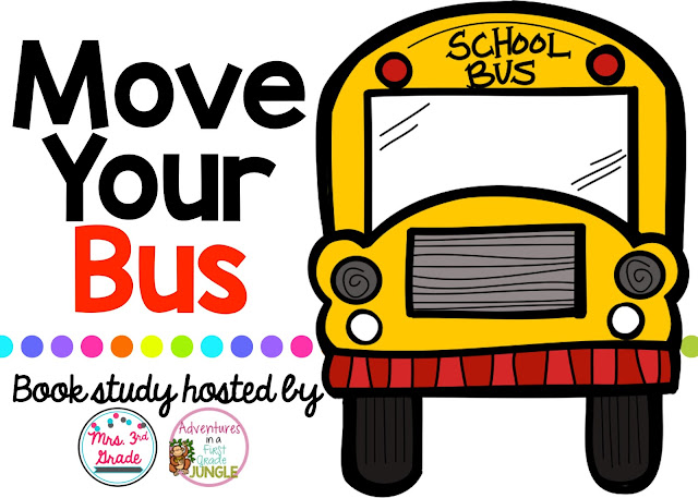 Move Your Bus book study is taking place in July 2016!  This book is AMAZING and will get you ready for the new school year!