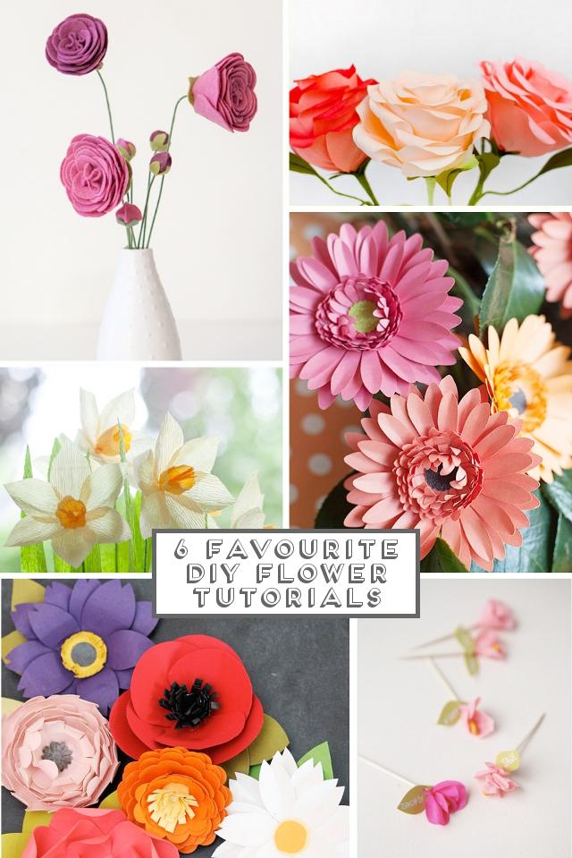6 Favourite Diy Flower Tutorials