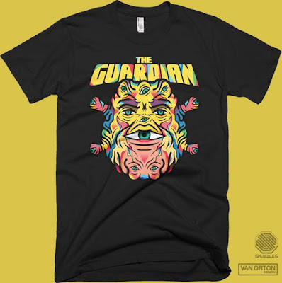 "Big Trouble in Little China ""The Guardian"" T-Shirt by Van Orton Design x Skuzzles"
