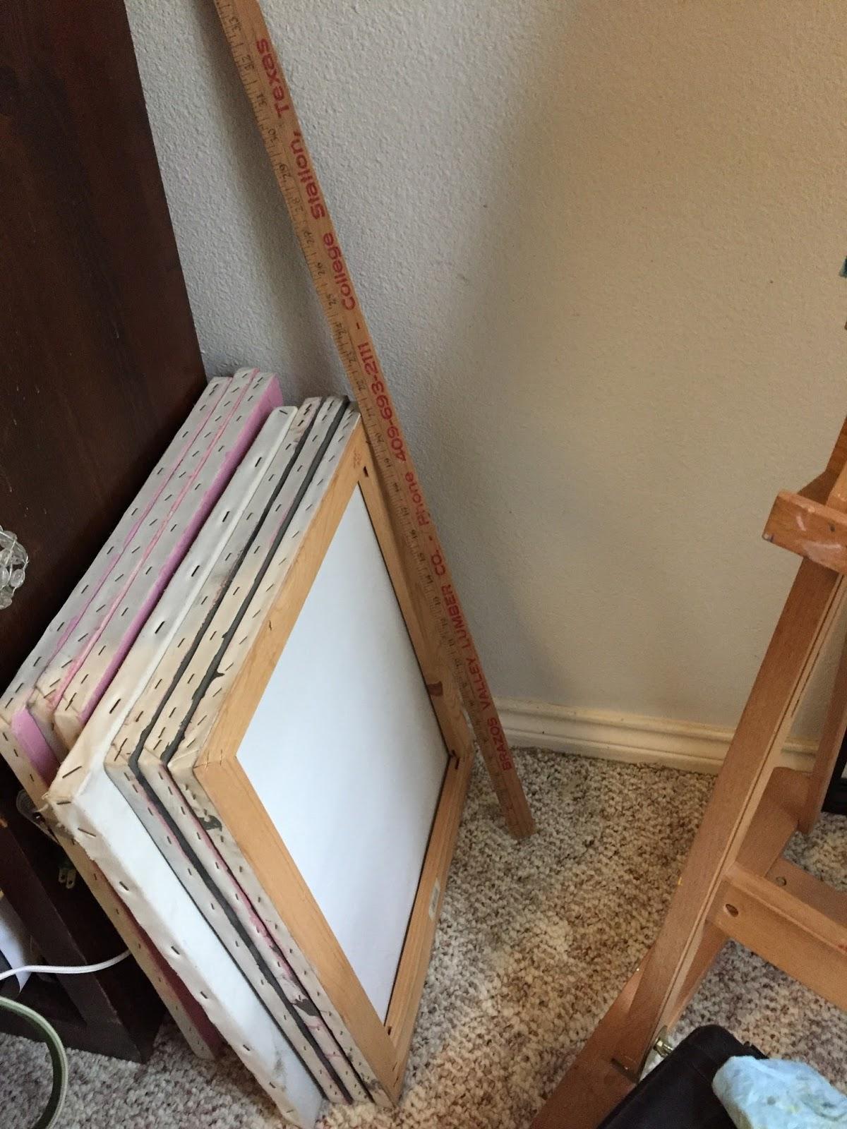 & Trash to Canvas Storage Rack