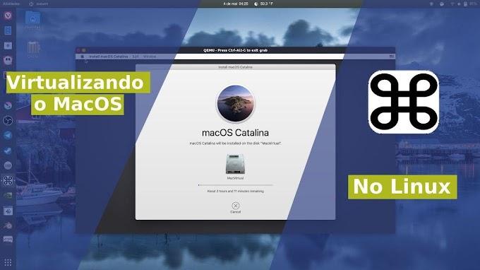 Virtualizando o MacOS no Linux através do Programa Sosumi