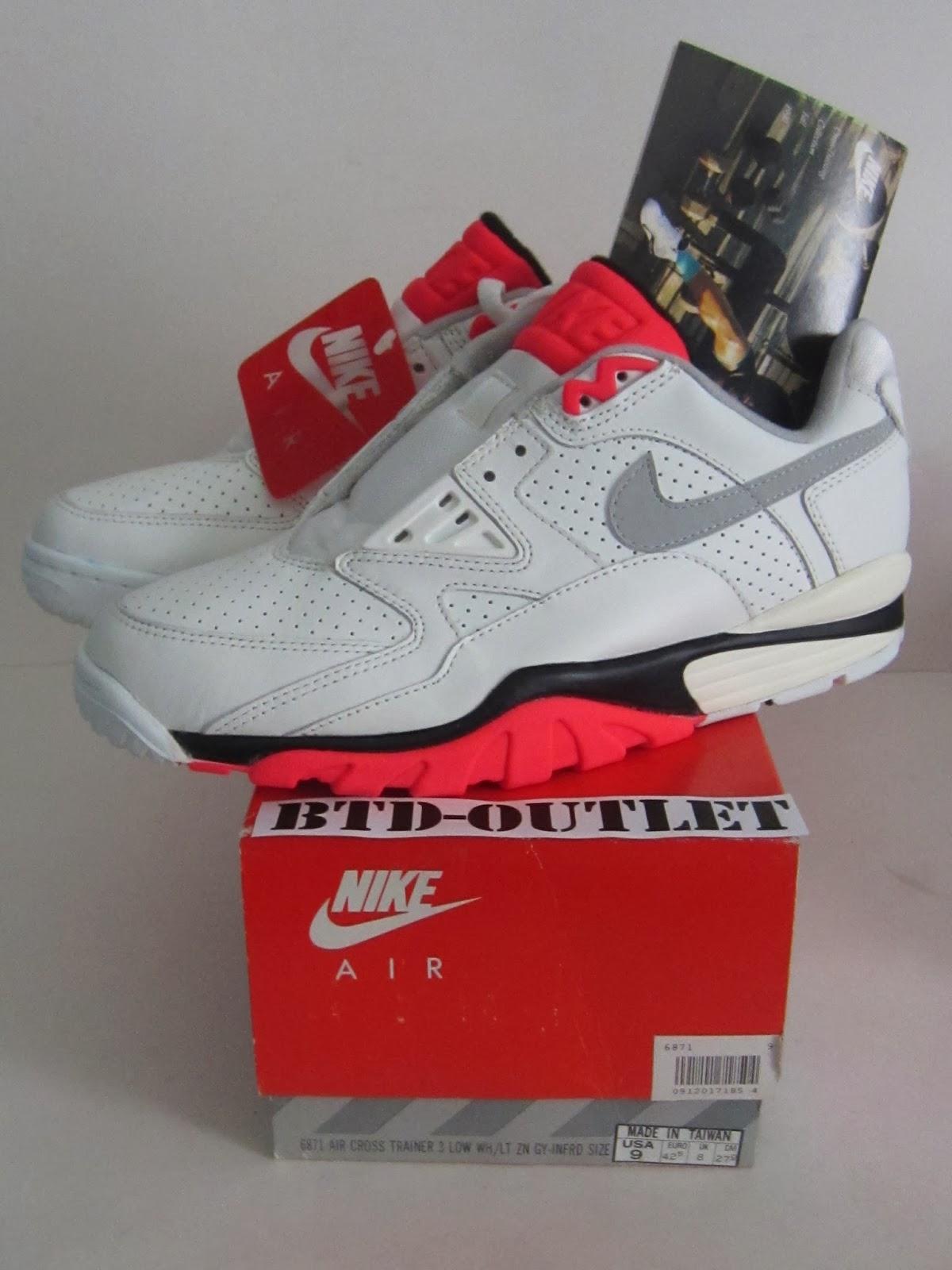1aa50fbfb Vintage Sports Apparel  Vintage 1990 Nike Air Cross Trainer III low ...