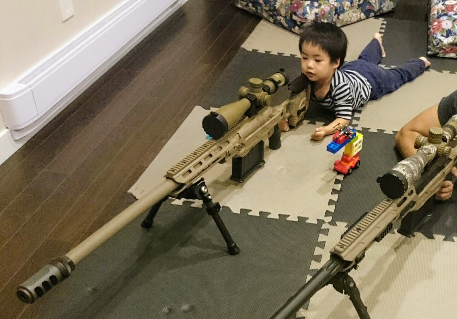 Mister Donut's Firearms Blog: Cadex CDX-50 TREMOR and PGW LRT-3