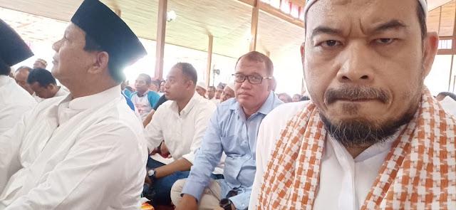 Ustaz Sambo Terpaksa Jawab Fitnah Prabowo Tidak Shalat