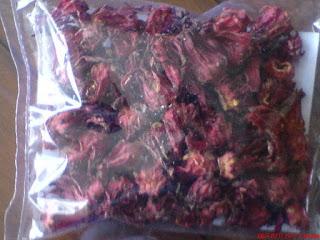 Kapsul bunga rosella merah hpai Asli Original untuk kesehatan