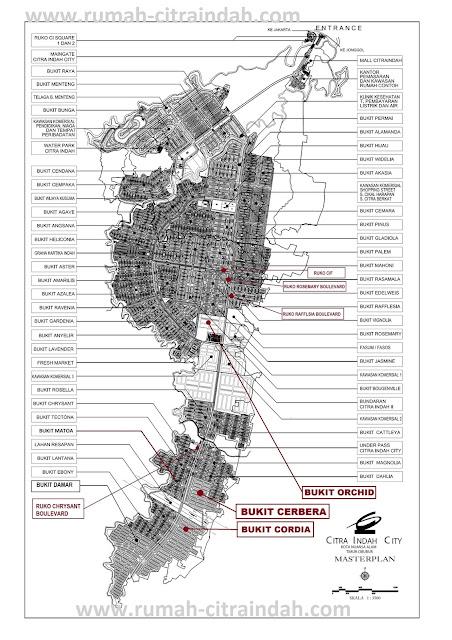 Masterplan Citra Indah City