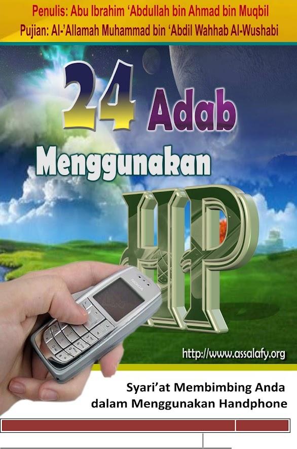 Download E-book Islam 24 Adab Menggunakan Ponsel