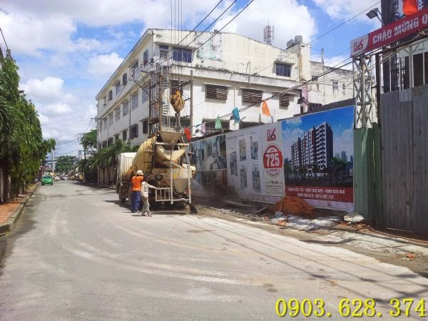 Cập nhật tiến độ xây dựng căn hộ 8X Thái An