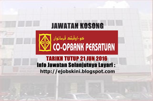 jawatan kosong di koperasi bank persatuan malaysia berhad