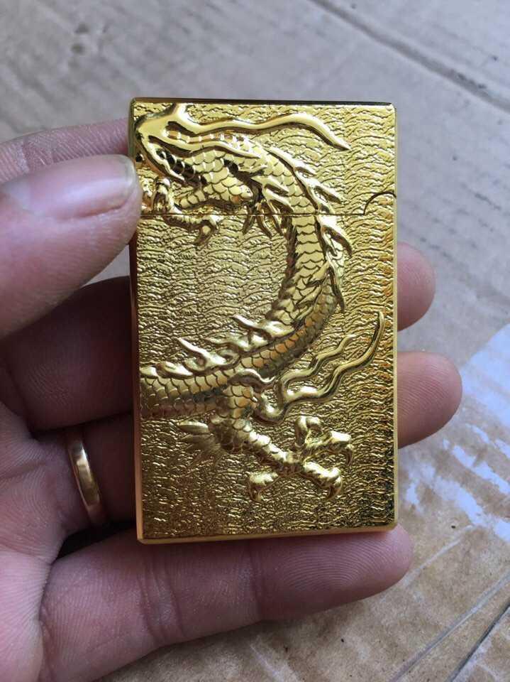 Bật lửa Zippo Rồng Vàng giá rẻ