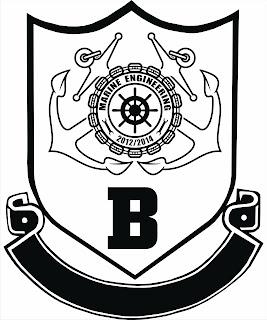 My School Life in MKJB: Logo for Marine B