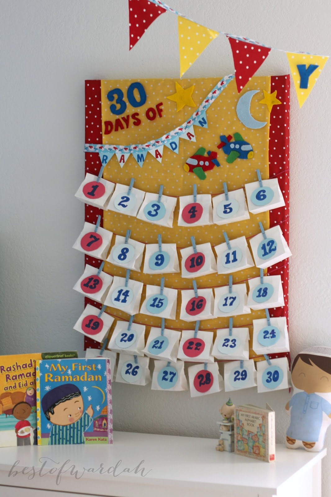 Diy Ramadan Calendar : Diy advent calendar best of wardah