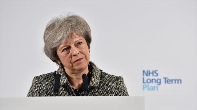 Theresa May sufre segunda derrota parlamentaria sobre el Brexit